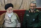 دیدار سردار غیب پرور با نماینده ولی فقیه در استان سمنان به روایت تصویر