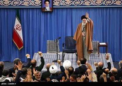 آذربایجان شرقی کے لوگوں کی رهبر معظم انقلاب امام خامنہ ای سے ملاقات