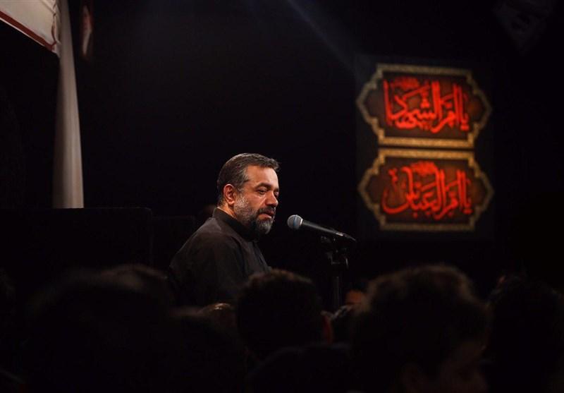 روضه خوانی حاج محمود کریمی به مناسبت وفات حضرت ام البنین (ع)