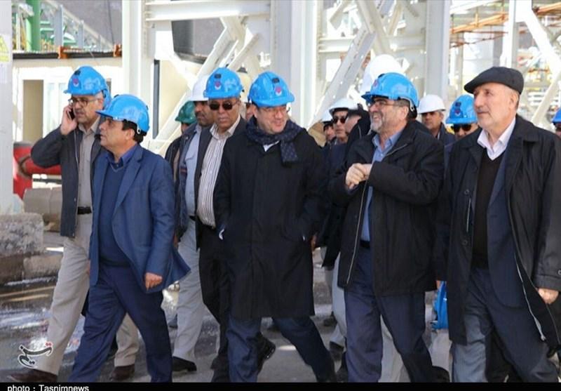 کرمان   بهرهبرداری از معدن چاه فیروزه با حضور وزیر صمت شهربابک آغاز شد