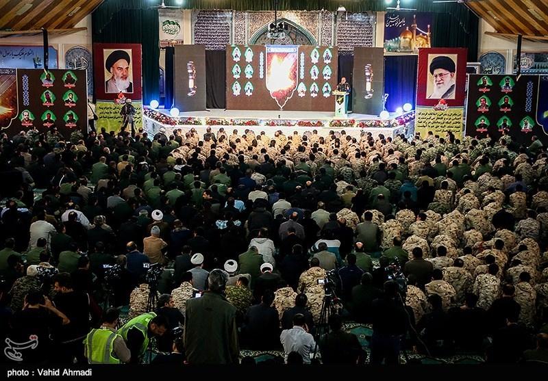 مراسم گرامیداشت شهدای حادثه تروریستی جاده خاش-زاهدان