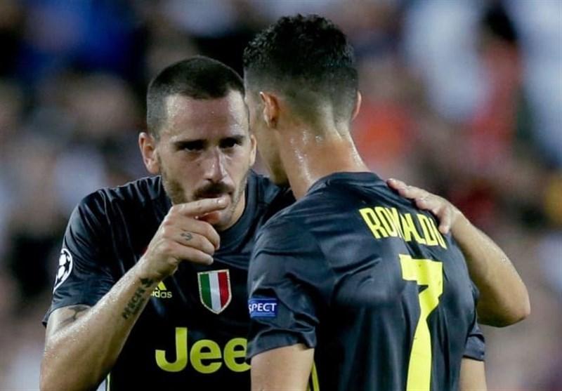 فوتبال جهان| بونوچی: از پیوستن کریستیانو رونالدو به یوونتوس ناراحت شدم!/ از رئال مادرید هم پیشنهاد داشتم