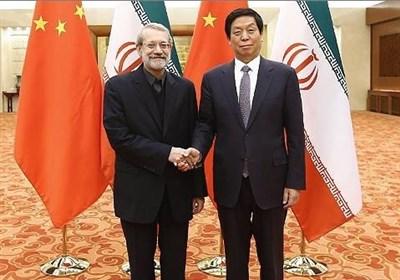 لاریجانی : ایران مستعدة لتعزیز علاقاتها مع الصین