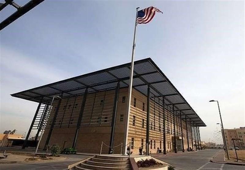فعالیتهای کنسولی سفارت آمریکا در بغداد به حالت تعلیق در آمد