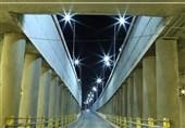پروژه زیرگذر میدان آزادی کرمان افتتاح شد