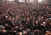 مقبوضہ کشمیر: کرفیو کے باوجود ہزاروں افراد کی شہداء کی نمازجنازہ میں شرکت