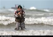 گیلان| نیروی دریایی ارتش در مسیر تحقق گام دوم انقلاب حرکت میکند