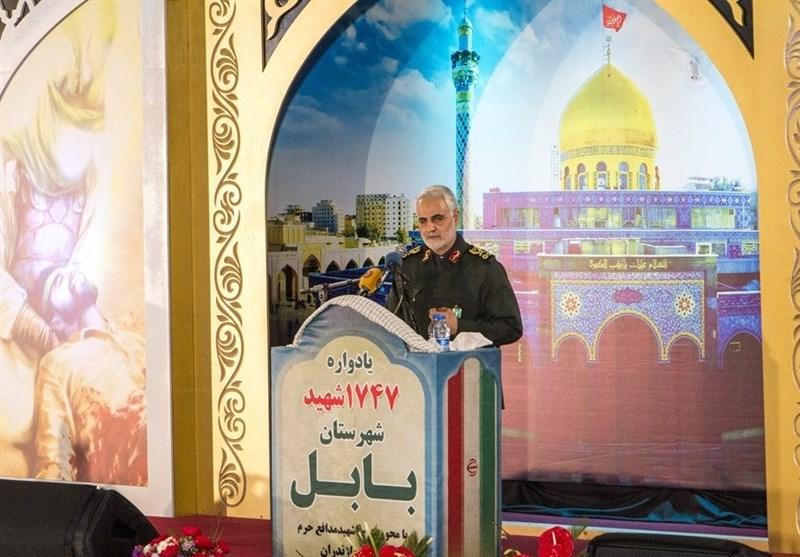 سرلشکر سلیمانی: انتقام خون شهدای سیستان و بلوچستان را میگیریم؛ هشدار میدهم ایران را آزمایش نکنید