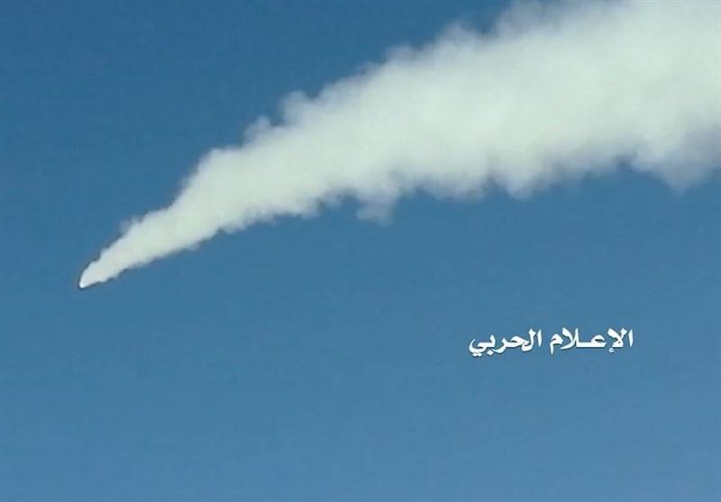 صاروخ بالیستی یضرب تجمعاً لقیادة المرتزقة فی الجوف