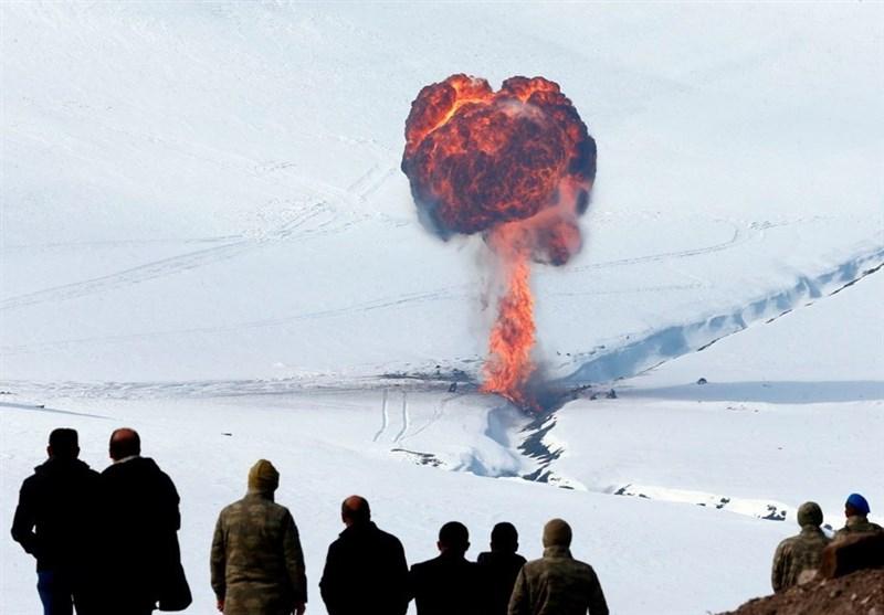 رزمایش بینالمللی ترکیه در مرز ارمنستان