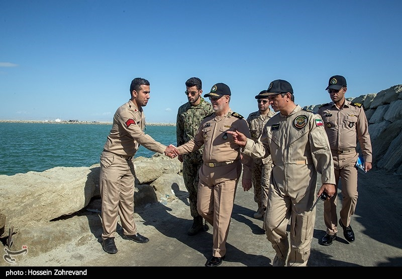Iran Fires Cruise Missiles in Naval Drill