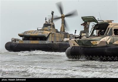 ایران کے بحری مشق میں قادر میزائل شامل
