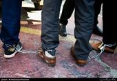 دستبند پلیس بر دستان 97 اغتشاشگر در پردیس
