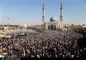 مراسم تشییع پیکر آیتالله محمد مؤمن - قم