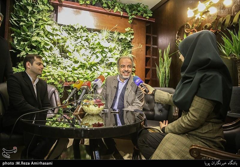 "سعید آقاخانی بازیگر سریال ""نون.خ"""