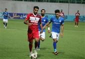 لیگ برتر فوتبال| پیروزی نساجی مقابل استقلال خوزستان در 45 دقیقه نخست