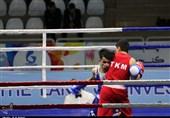 بوکس نونهالان قهرمانی آسیا|شبگرنیا با ناک اوت بوکسور میزبان مدال برنز خود را قطعی کرد