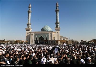 آیتالله محمد مؤمن کی قم میں نماز جنازہ