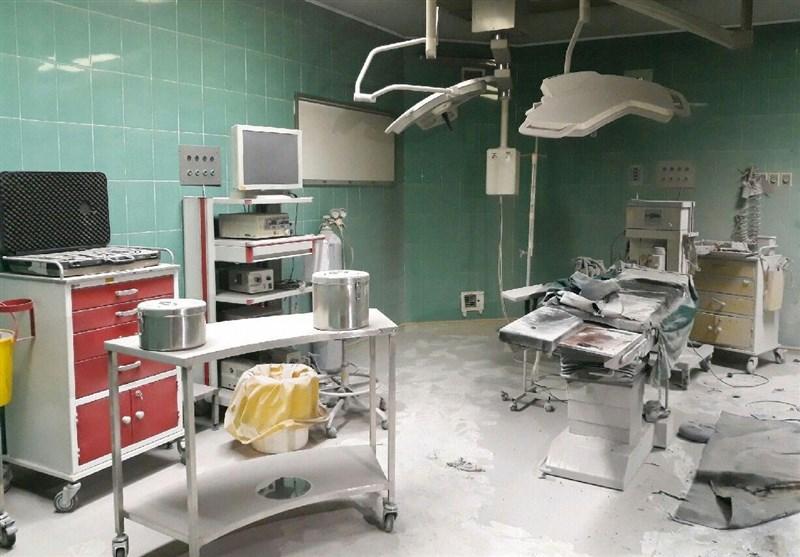 انفجار کپسول اکسیژن در بیمارستان کوثر سمنان جان بیمار را گرفت