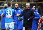 فوتبال جهان| آنچلوتی: ناپولی همان ناپولی قبل بود با گلهای بیشتر/ گل میلیک را رونالدو به من آموخت