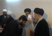 مراسم عمامهگذاری طلاب همزمان با میلاد امام زمان(عج) توسط آیت الله علوی گرگانی برگزار شد