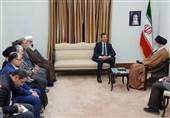 تمجید بشار اسد از سردار سلیمانی در حضور امام خامنهای + فیلم
