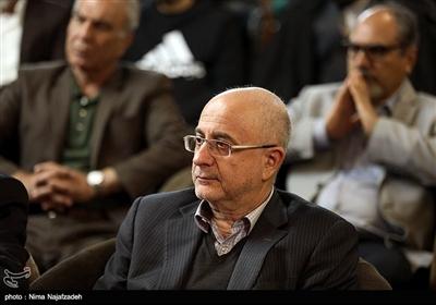 علی مرادخانی در مراسم رونمایی از فراخوان بینالمللی خوشنویسی یاس یاسین