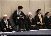 مراسم بزرگداشت آیتالله مؤمن در محضر امام خامنهای برگزار شد
