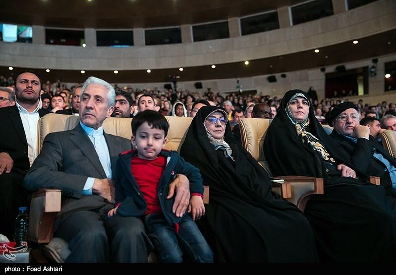 منصور غلامی وزیر علوم در آئین جشن جهان نوروز