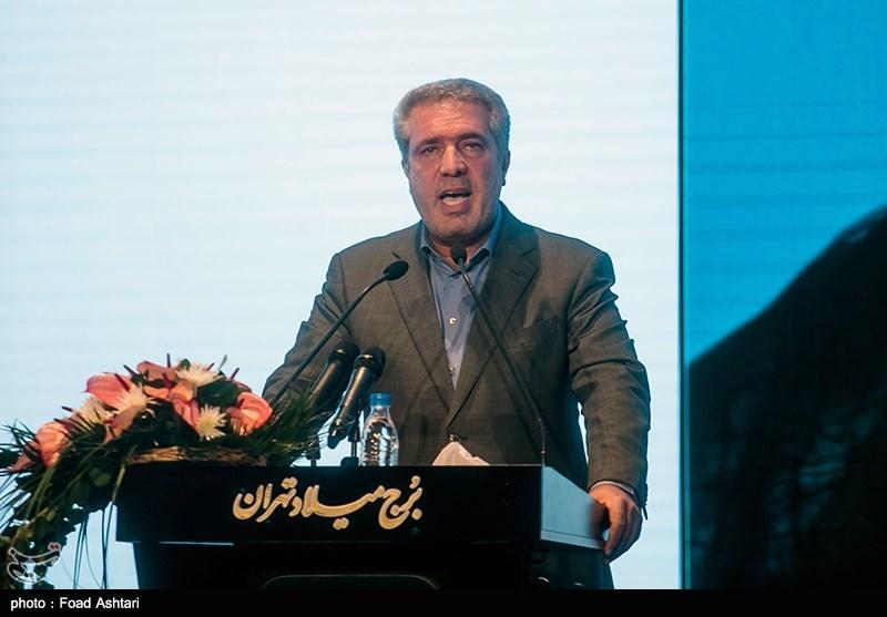علی اصغر مونسان رئیس سازمان میراث فرهنگی، صنایع دستی و گردشگری در جشن جهان نوروز
