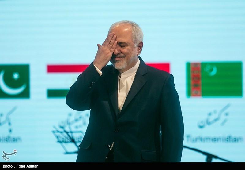 محمد جواد ظریف وزیر امورخارجه ایران در مراسم جشن جهان نوروز