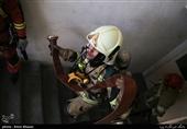 تهران| آتشسوزی گسترده بامدادی در مجتمع تجاری طوبی + فیلم و تصاویر