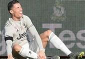 فوتبال جهان  غیبت احتمالی رونالدو در بازی حساس یوونتوس