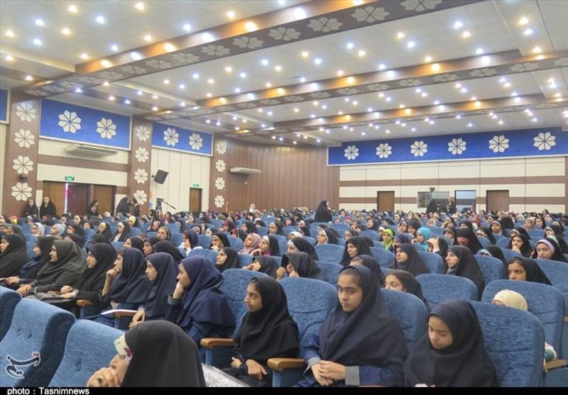 «اجتماع دختران فاطمی» در اهواز برگزار شد+تصویر
