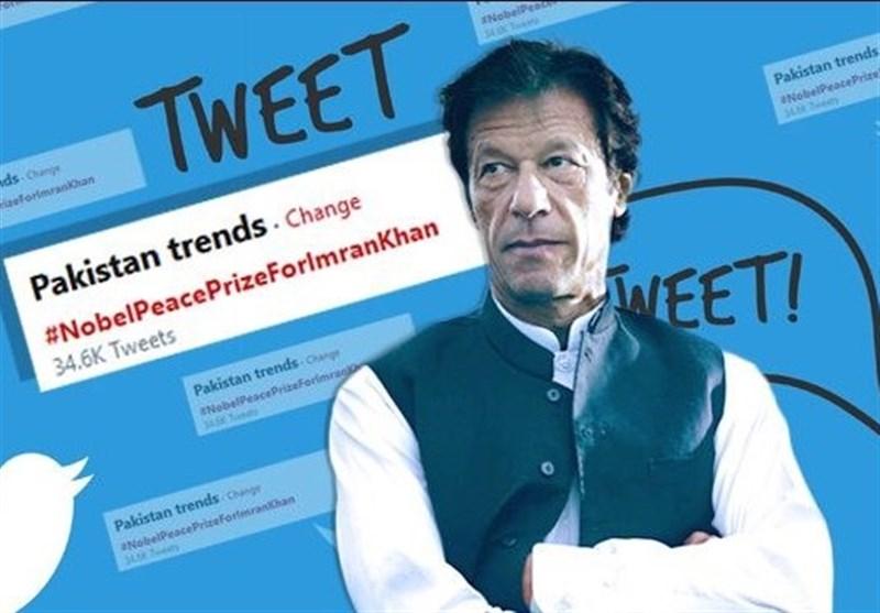 رسانه آمریکایی عمران خان را نامزد جایزه صلح نوبل دانست