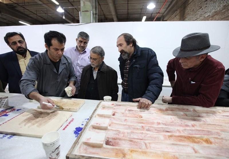 """تصویربرداری سریال """"سلمان فارسی"""" از شهداد کرمان آغاز شد"""