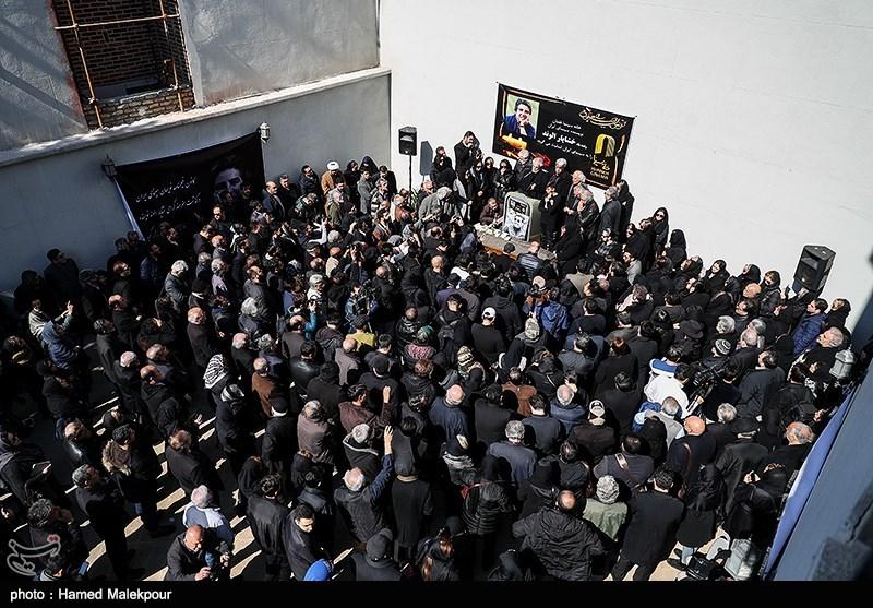 مراسم تشییع پیکر زندهیاد خشایار الوند
