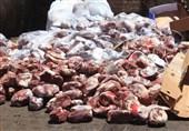 کشف 300 کیلو مرغ فاسد از منزل مسکونی/ فروش گوشتهای فاسد در کبابی