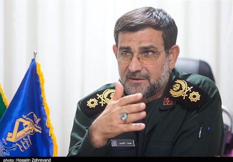 سردار تنگسیری: نیروی دریایی سپاه در 24 ساعت پل مواصلاتی چند روستا در شهرستان الهایی را احداث کرد
