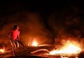 """غزة..شهید و3 جرحى فی مواجهات عنیفة خلال """"الارباک اللیلی"""