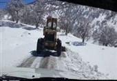 بارش برف و باران در جادههای 9 استان