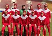 شکست دختران فوتبالیست زیر 16 سال ایران مقابل لائوس