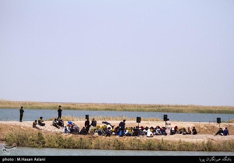 بازدید دانشجویان خارجی از مناطق عملیاتی جنوب