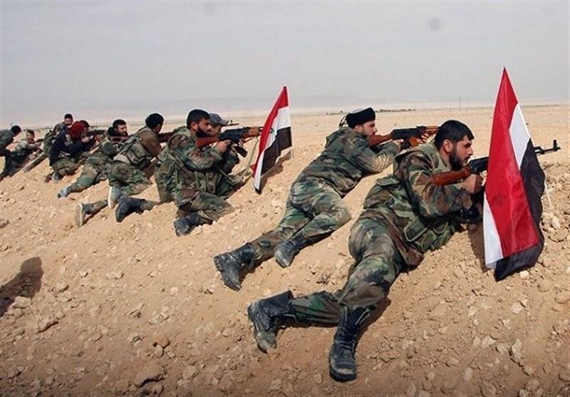 رزمایش نظامی سوریه و روسیه در استان قنیطره