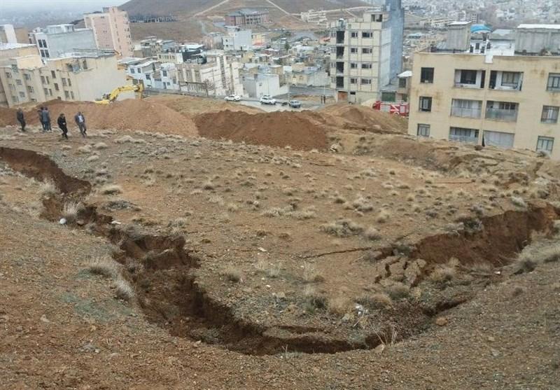 احتمال رانش زمین در محله فرحزاد