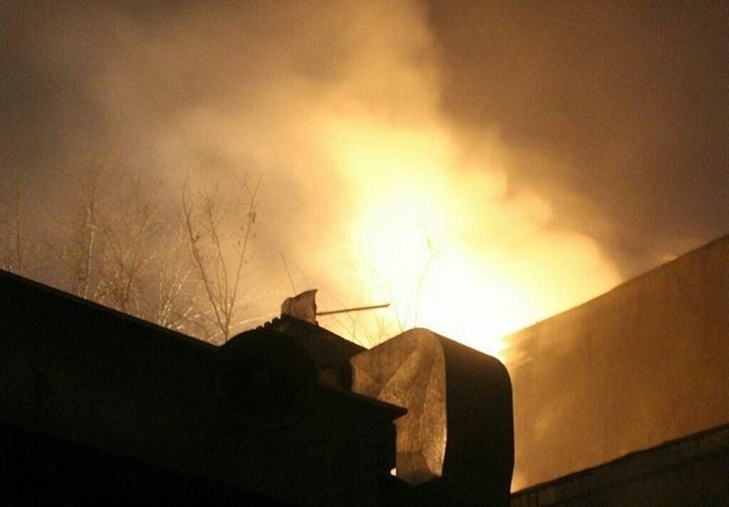 مصدومان حادثه انفجار کپسول در لردگان به بیمارستان اصفهان منتقل شدند