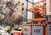 مرگ دلخراش پسر جوان پس از سقوط 4 طبقهای + تصاویر