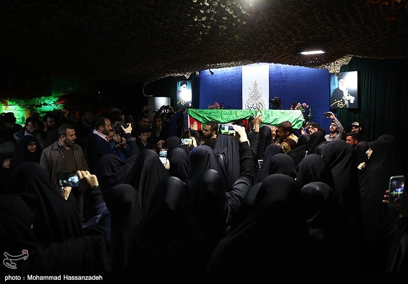 مراسم وداع با پیکر شهید مدافع حرم «سعید انصاری» در محله باغفیض برگزار میشود