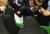 """وداع خانواده شهید مدافع حرم """"سعید انصاری"""" بعد از سه سال + عکس"""