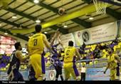 پلیآف لیگ برتر بسکتبال| پیروزی شهرداری گرگان و پالایش آبادان در سومین دیدار